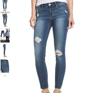 Articles of Society skinny jeans, size 27